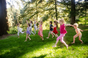 yoga for kids and creative wellbeing